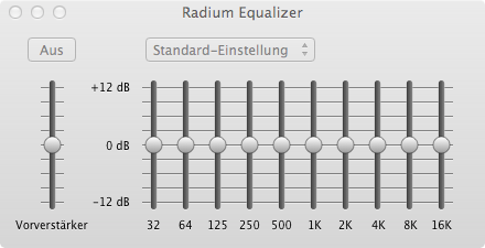 Radium Equalizer