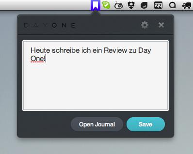Ein digitales Tagebuch führen mit Day One